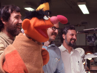 A still image from Street Gang: How We Got To Sesame Street directed by Marilyn Agrelo.